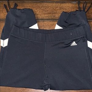 Adidas ATS Dry Thermo System cropped Joggers. Sz L